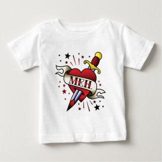 Meh Tattoo Baby T-Shirt