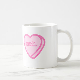 Meh Valentine Mug