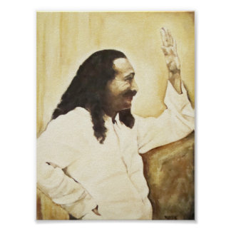 """Meher Baba, """"Happy Trails"""" Poster"""