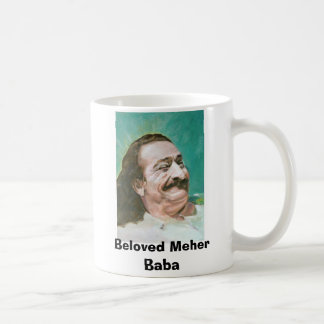 Meher Baba joyous, Beloved Meher Baba Coffee Mug