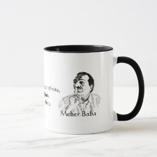 Meher Baba Parvardigar Prayer Coffee Mug