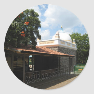 Meher Baba's Tomb Classic Round Sticker