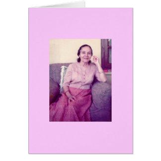 Mehera, 1976 card