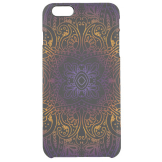 Mehndi Burst Clear iPhone 6 Plus Case