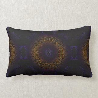 Mehndi Burst Lumbar Pillow