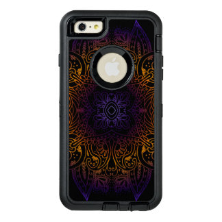 Mehndi Burst OtterBox Defender iPhone Case
