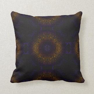 Mehndi Burst Throw Pillow