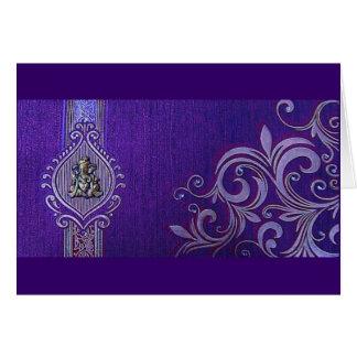 Mehndi Greeting Card