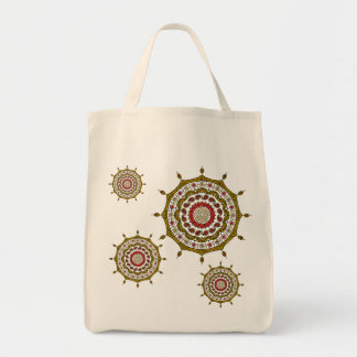 Mehndi Fantasy Gold Light Tote Bag