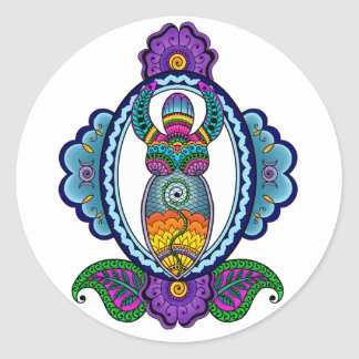 Mehndi Goddess Stickers