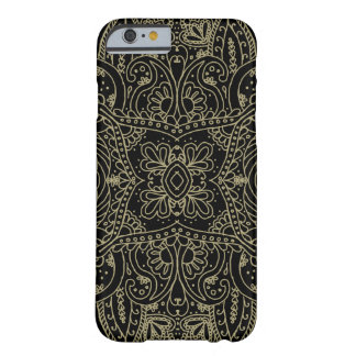 Mehndi Gold Barely There iPhone 6 Case