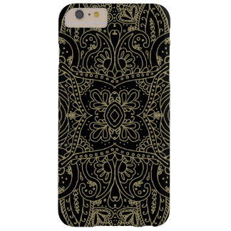 Mehndi Gold Barely There iPhone 6 Plus Case