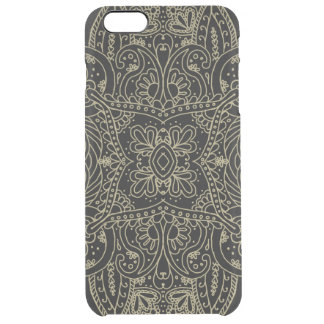 Mehndi Gold Clear iPhone 6 Plus Case