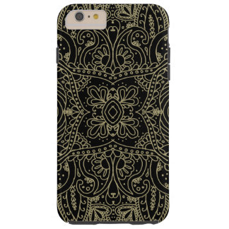 Mehndi Gold Tough iPhone 6 Plus Case