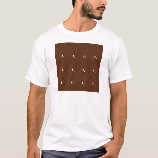 Mehndi henna Brown Ornaments. Luxury edition T-Shirt