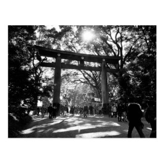 Meiji Shrine, Tokyo, Japan Postcard