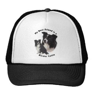 Meilleur ami border collie casquette trucker
