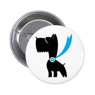 Meilleur chez le chien de Scottie d exposition Badge Avec Épingle