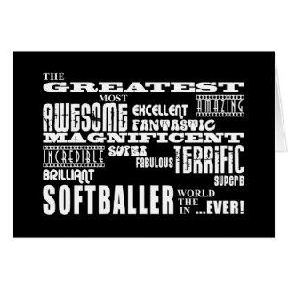 Meilleur Softballers Plus grand Softballer Cartes