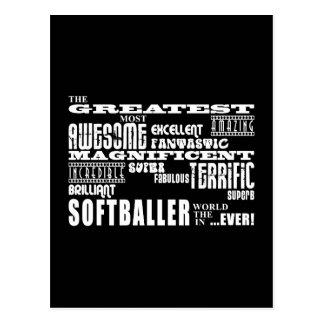 Meilleur Softballers : Plus grand Softballer Cartes Postales