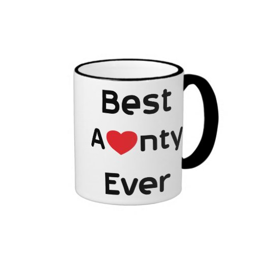 Meilleure tante Ever Mug À Café