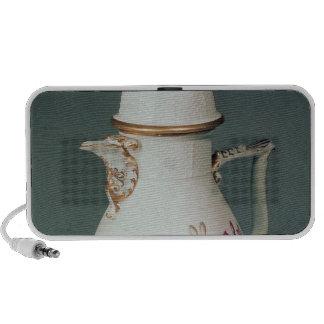 Meissen coffee pot c 1740-50 laptop speaker