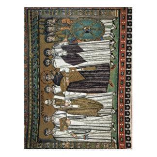 Meister von San Vitale in Ravenna Chormosaiken in  Postcard