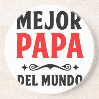 mejor papa delmonico coasters