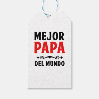 mejor papa delmonico gift tags