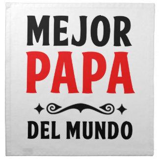 mejor papa delmonico napkin
