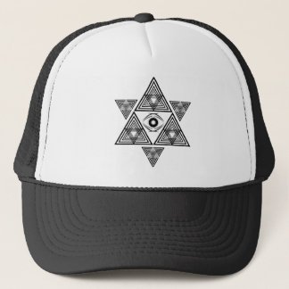 Mekabah Eye Trucker Hat