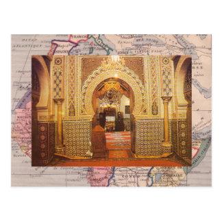 Meknes, mosque, Morocco Postcard