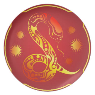 Melamine plate Orient