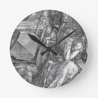 Melancholia by Albrecht Durer Wallclocks