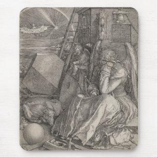 Melancholia I, Engraving by Albrecht Durer Mouse Pad