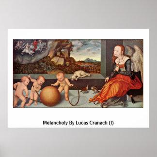 Melancholy By Lucas Cranach (I) Poster