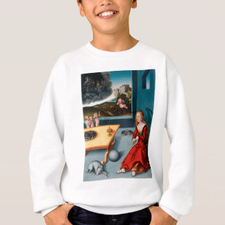 Melancholy by Lucas Cranach the Elder Sweatshirt