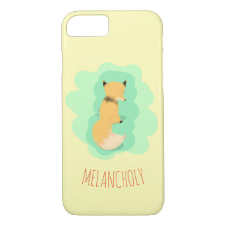 Melancholy Fox iPhone 8/7 Case