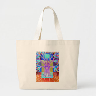 Melancholy Large Tote Bag