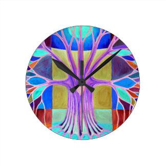 Melancholy Round Clock