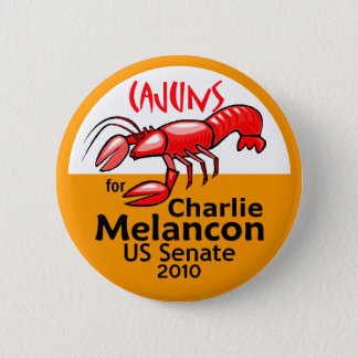 Melancon CAJUNS 2010 Button