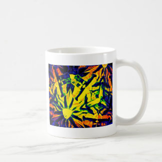 Mélange abstrait de couleur tasses