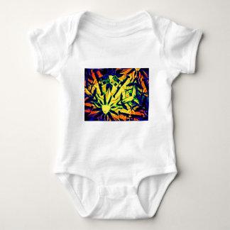 Mélange abstrait de couleur tee shirt