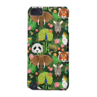 Mélange animal tropical coque iPod touch 5G