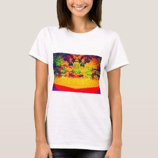 Mélange de couleur de région sauvage t shirt