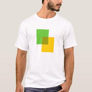 Mélange de couleur t shirt