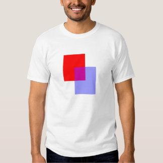 Mélange de couleur tee shirts