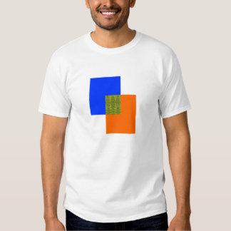 Mélange de couleur tee-shirts