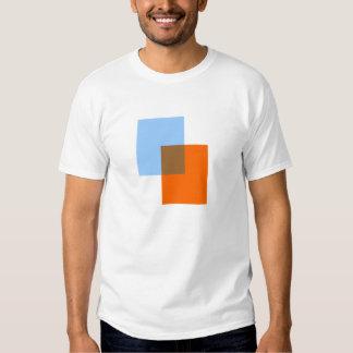 Mélange de couleur tshirts