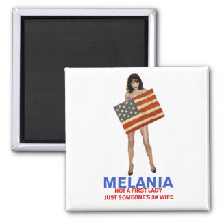 Melania, not a first lady someone's 3rd wife magnet